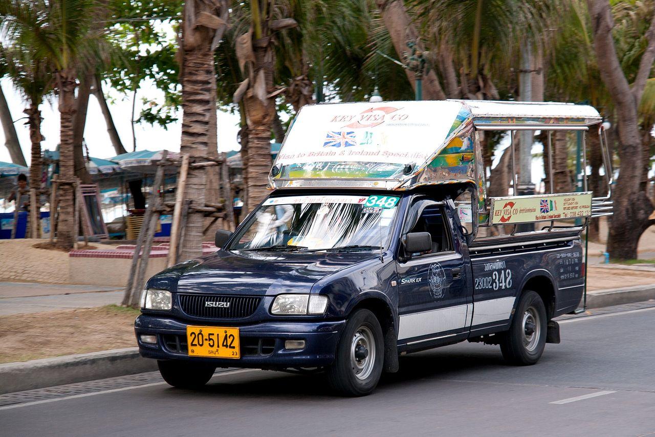 xe Songteow pattaya