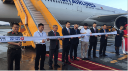 Turkish Airlines khai trương đường bay thẳng đến Nội Bài