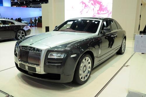 Rolls Royce Ghost Majestic Horse