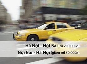 Taxi Sân bay Nội Bài đón khách về Hà Nội