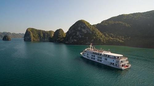 Du thuyền Paradise Elegance sang trọng tại Hạ Long – Taxi Noi Bai